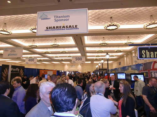 Affiliate Summit West 2012 Exhibit Hall