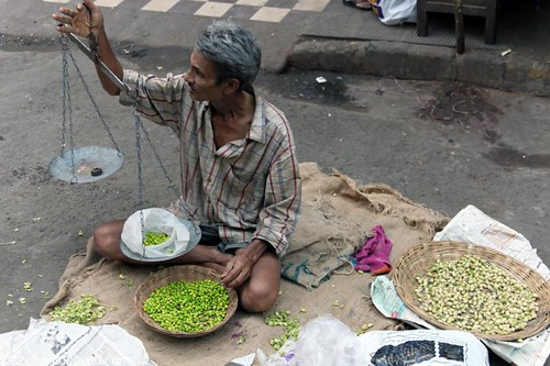 Selling Fresh Chickpeas