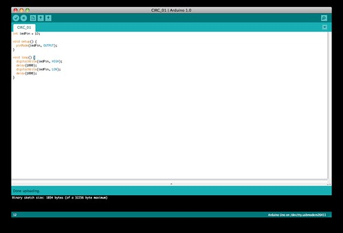Chip overclock getting to hello world with arduino