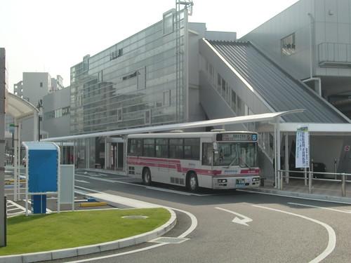 福間駅前ロータリー