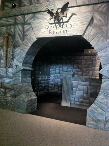 Dragon's Realm at the magiquest castle in pigeon forge
