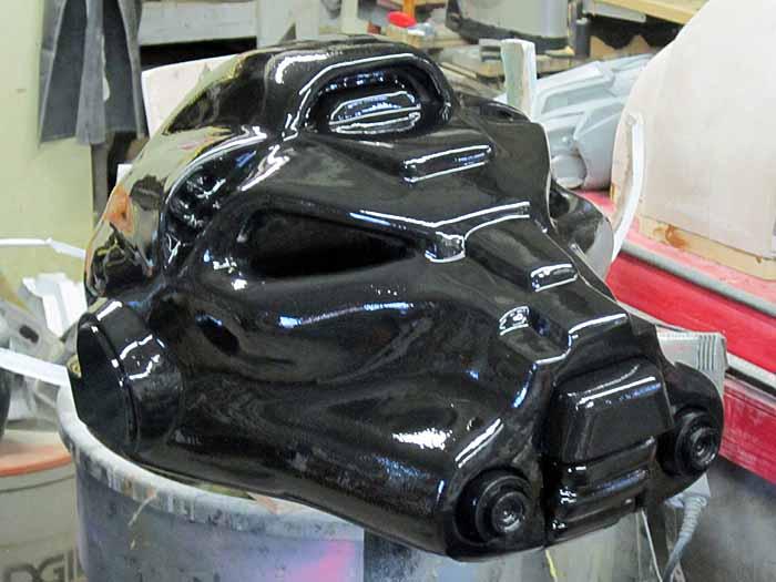 SM Terminator Helmet Shiny Black