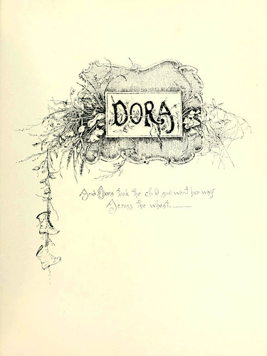 002-Dora texto 1-Tennyson's heroes and heroines. Illustrated by M. Stone and others 19--. Marcus Stone