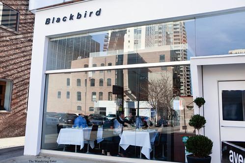 Blackbird restaurant exterior