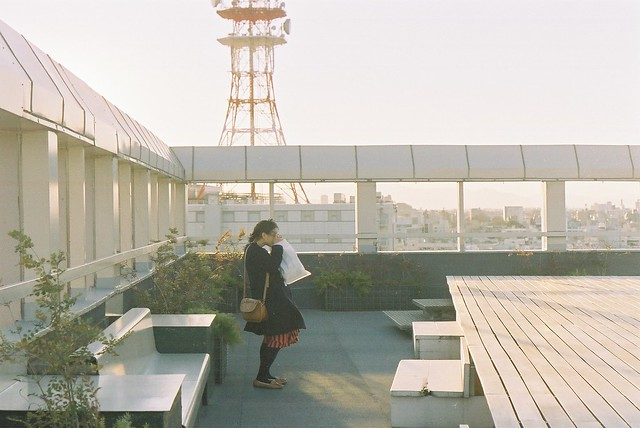 Hiki on the rooftop