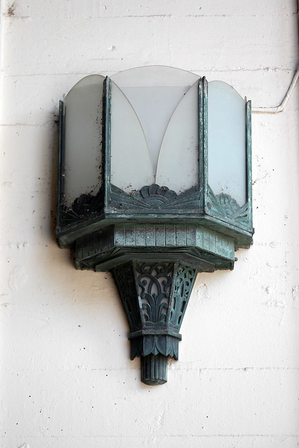 Casino art deco exterior light fixture flickr photo for Art deco exterior light fixtures