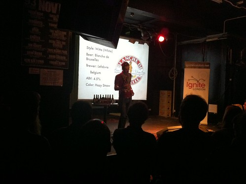 Ben Fields at #igniteLDN5