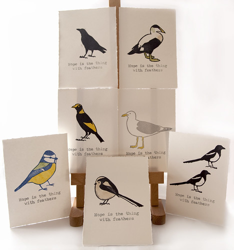 Bird Rubber Stamps, Somerset Satin 300gsm Paper