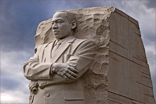 MLK Jr Memorial, Washington, DC (by: Ron Cogswell, creative commons license)
