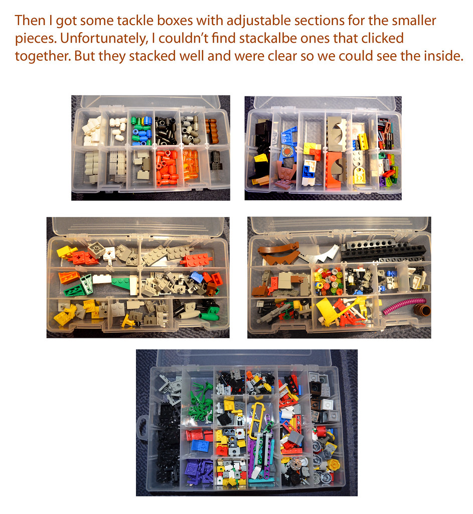 Lego Tackle Boxes _SMALL