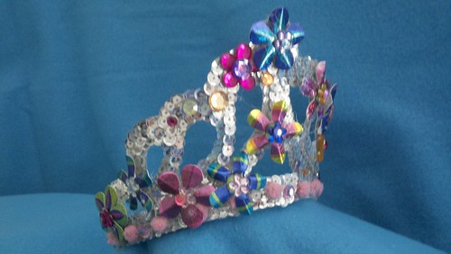 flower princess crown by davisturner