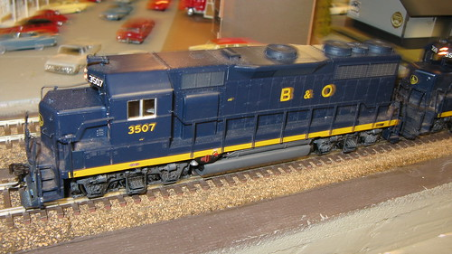 1960's era  B & O  EMD  2nd Generation roadswitcher locomotives. by Eddie from Chicago
