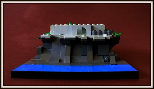 LEGO Oceanside Castle Micro-scale (4)