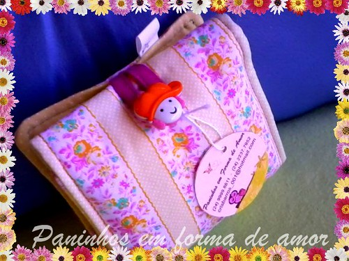 Achei legal para as meninas, que estão começando agora a nova fase!! by ♥Paninhos em forma de amor♥