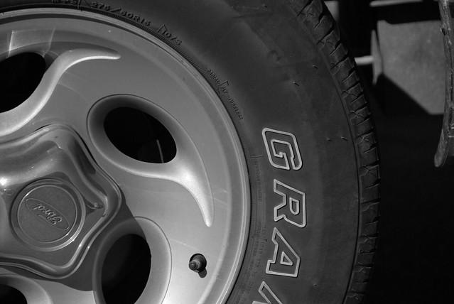 White Letter Tire Paint Lifespan