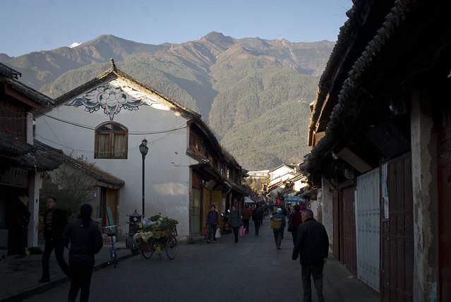 Dali streets -Bai house