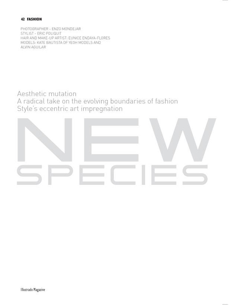 Illustrado Magazine Dubai January 2012 Cover and Main Editorial (1a)