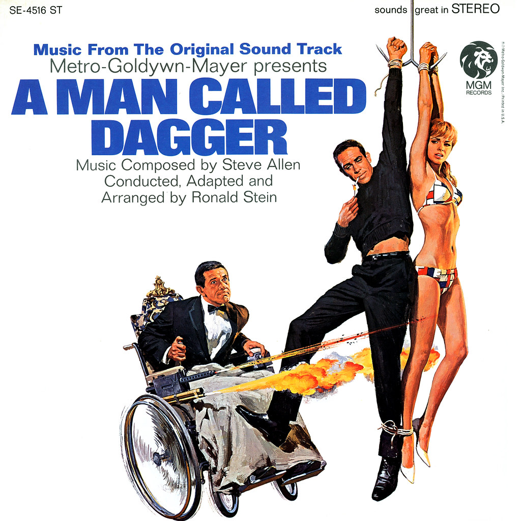 Steve Allen - A Man Called Dagger