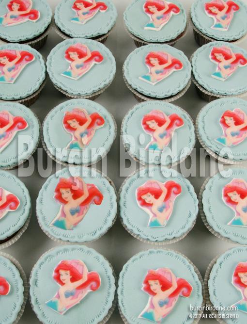 Ariel Cupcake