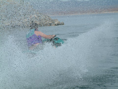 Jet Ski on Lake Mead