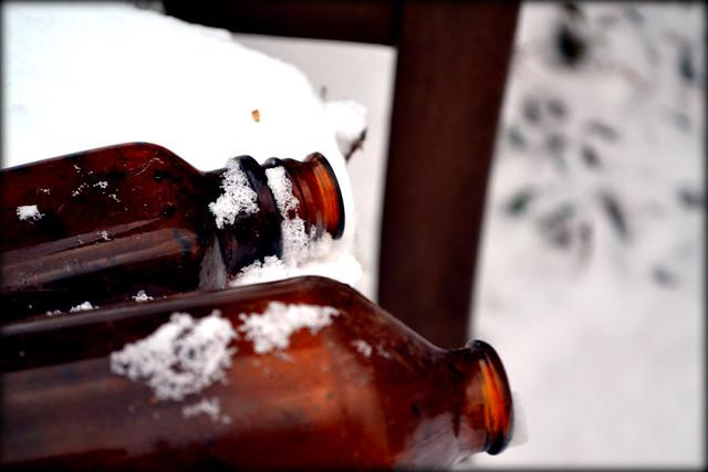 2012 Snow Bottles