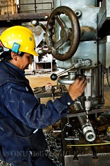 machine, industry, mechanic, iron, person,
