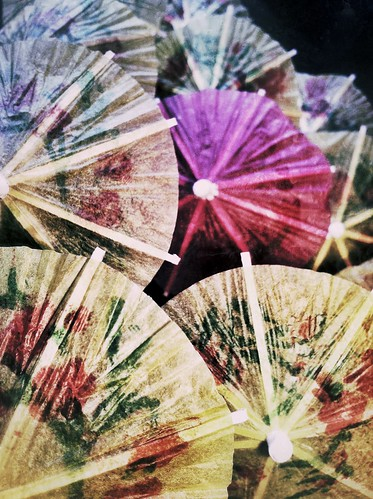 220/365- Tiny umbrellas by elineart