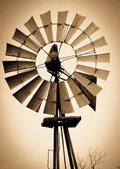 Windmill (antiqued)