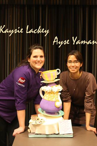 Kaysie Lackey cake class
