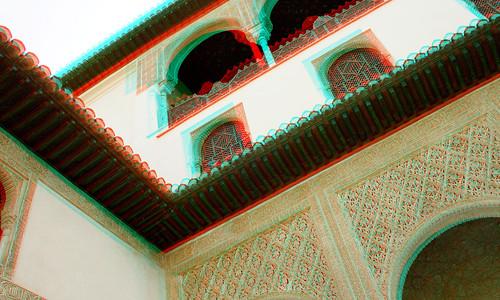 Alhambra of Granada in 3D