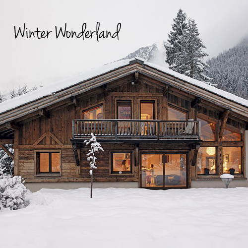 A cosy chalet the style files - Chalet deco ...