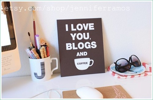 i heart you blogs and coffee
