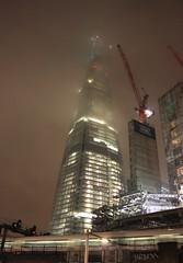 The Shard in fog