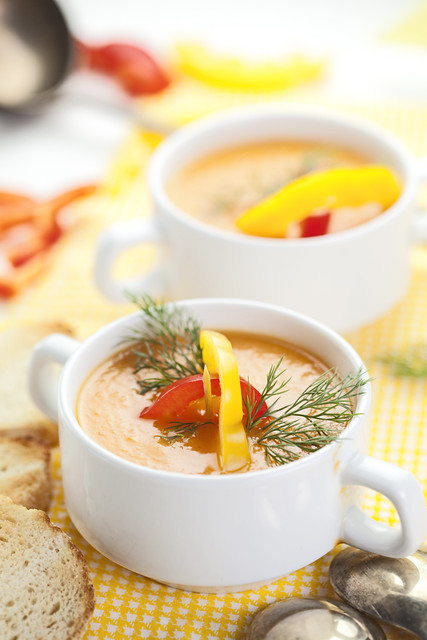 Red And Yellow Bells Soup