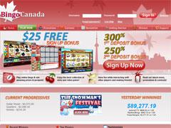 Bingo Canada Lobby
