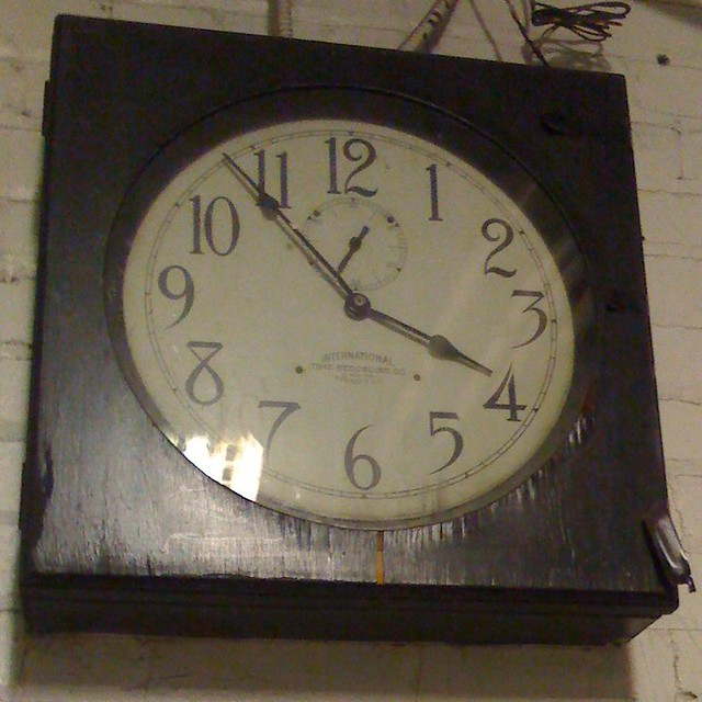 Cool clock (not accurate) - cropped
