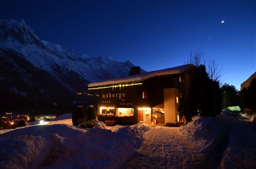 Chamonix Mont Blanc / Auberge**** du Bois Prin