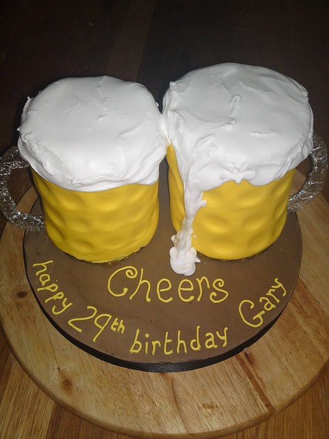 beer glass cake Flickr - Photo Sharing!
