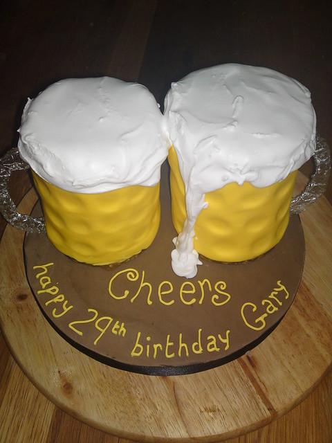 Beer Glass Cake Design : beer glass cake Flickr - Photo Sharing!