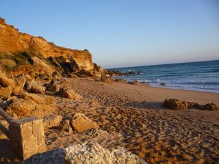 Strandleben Faro Cabo Roche
