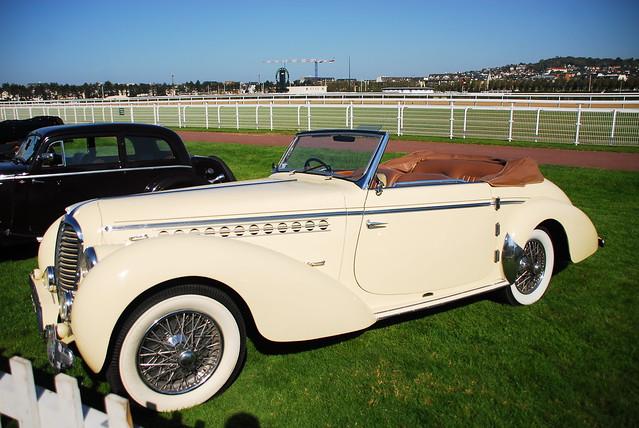 1948 Delahaye 135MS cabriolet Guilloré