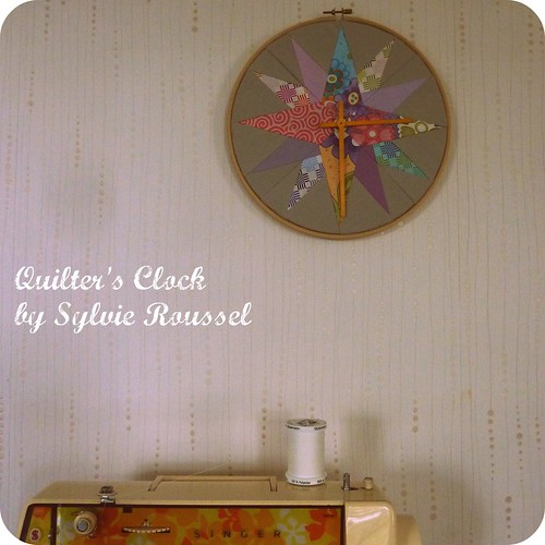 Quilter's Clock