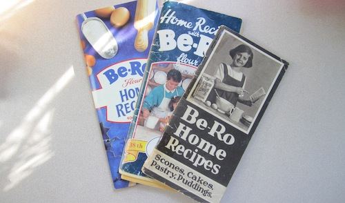 Be-Ro recipe books