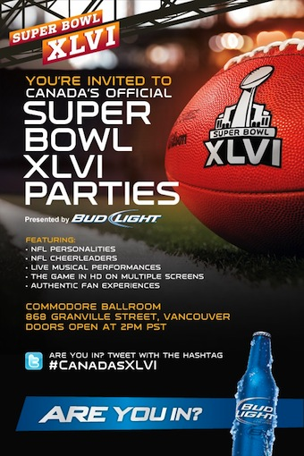 Vancouver Super Bowl Party
