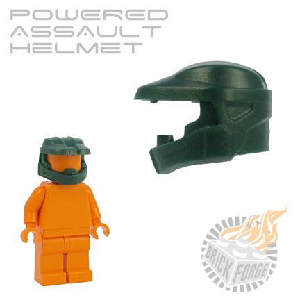 Powered Assault Helmet - Dark Green