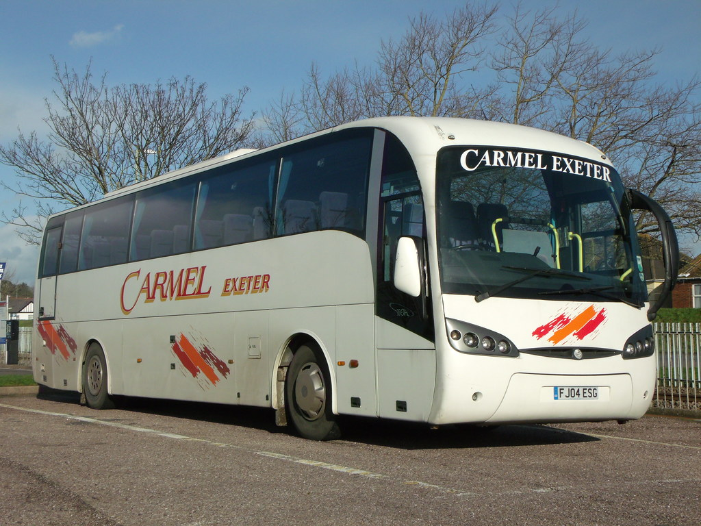 Carmel Coaches - FJ04ESG - Exmouth - 26 January 2012 (2)