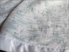 Woven Baby Blanket, closer look