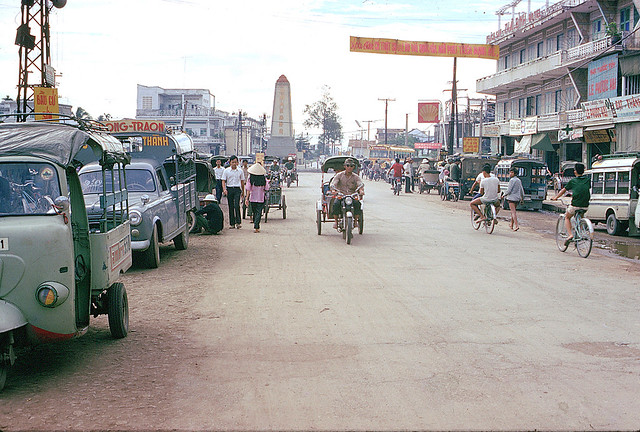 Vinh Long 1973 - near traffic circle