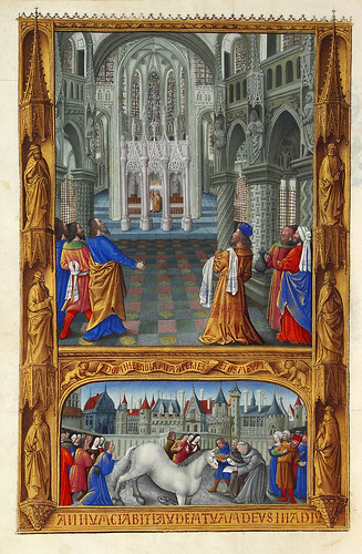 007-Très Riches Heures du duc de Berry -MS 65 F129V-Creditos-Wikimedia Commons user Petrusbarbygere