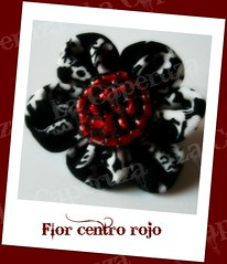 marcaFlor centro rojo